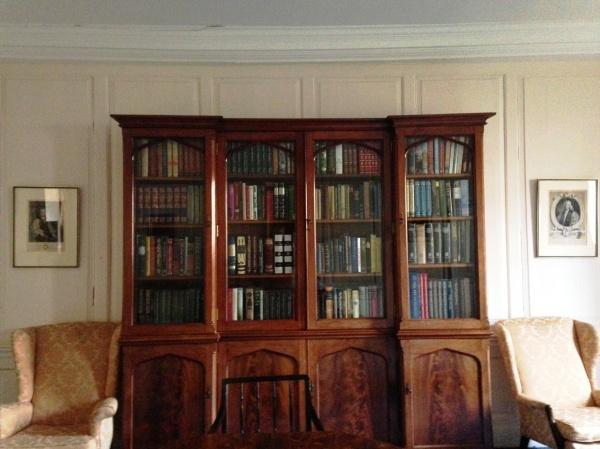 Folio Society bookcase