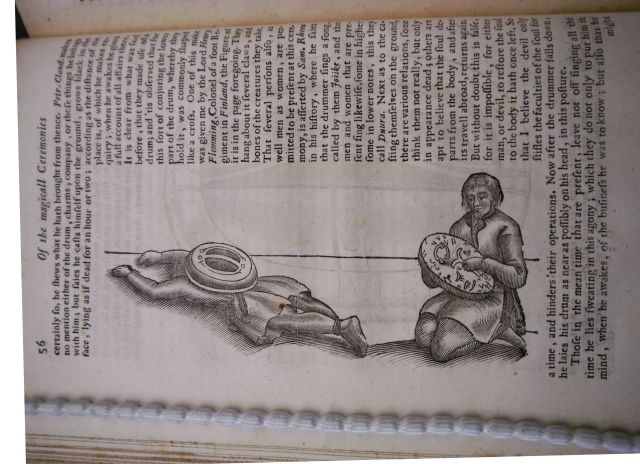 Image of a shaman in a trance state: Fellows' Library P.5.20 (© Jesus College, Oxford)