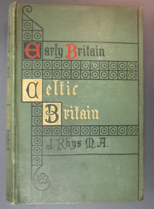 Cover of J. Rhys, Celtic Britain (London : SPCK, 1908) (© Bodleian Libraries)