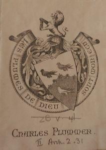 An Teagasg Criosdaidhe Plummer bookplate