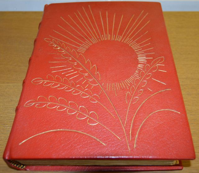 Seven Pillars of Wisdom in handmade binding