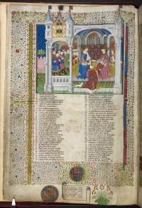 Margaret of Anjou in the Shrewsbury Talbot Book (British Library)